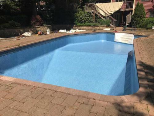 Pool Re plasting